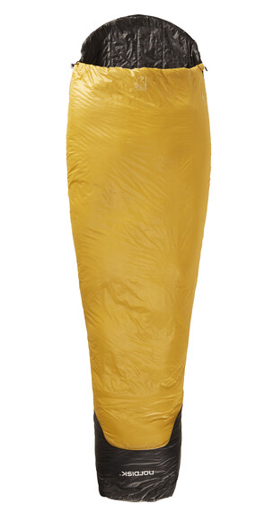 Nordisk Oscar -2° Sleeping Bag L mustard yellow/black